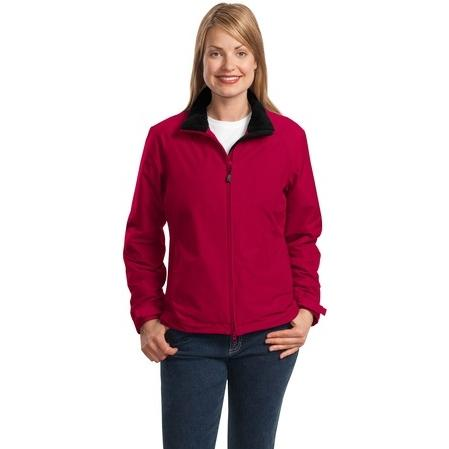 Port Authority Ladies Challenger Jacket Small - True Red/True Black