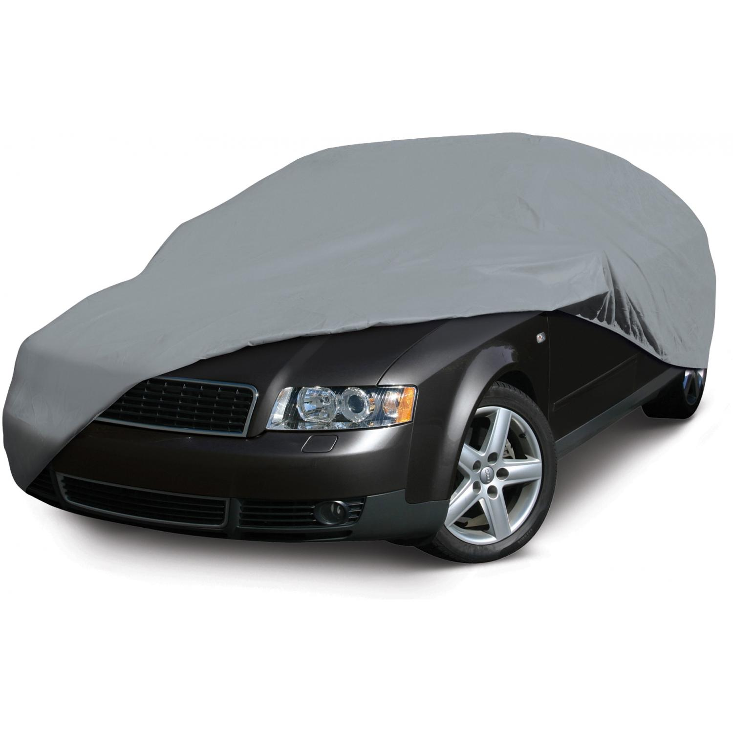 Classic Accessories Deluxe Four-Layer Car Cover - Mid-Size Sedan