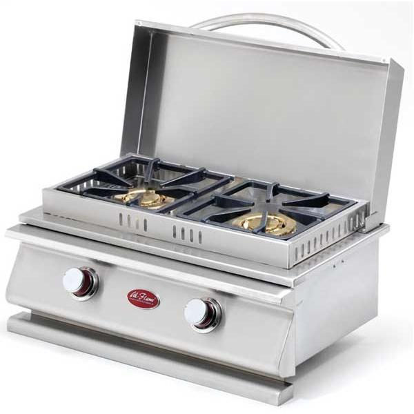 Cal Flame Deluxe Double Side By Side Built-in Natural Gas Burner (ships As Propane With Conversion Fittings) at Sears.com