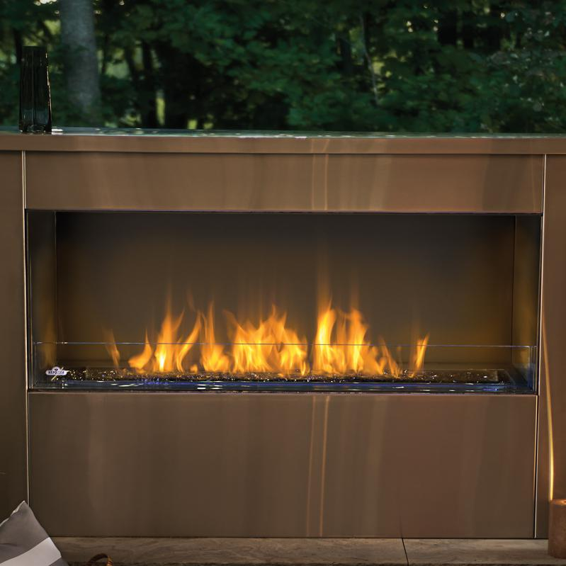 Napoleon Galaxy 51-Inch Outdoor Built-In Natural Gas Fire...