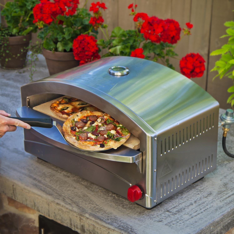 Camp Chef Italia Artisan Portable Propane Outdoor Pizza Oven - Pzoven