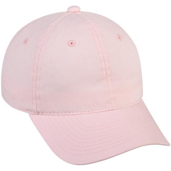 Outdoor Cap Ladies Organic Cotton Cap - Pink