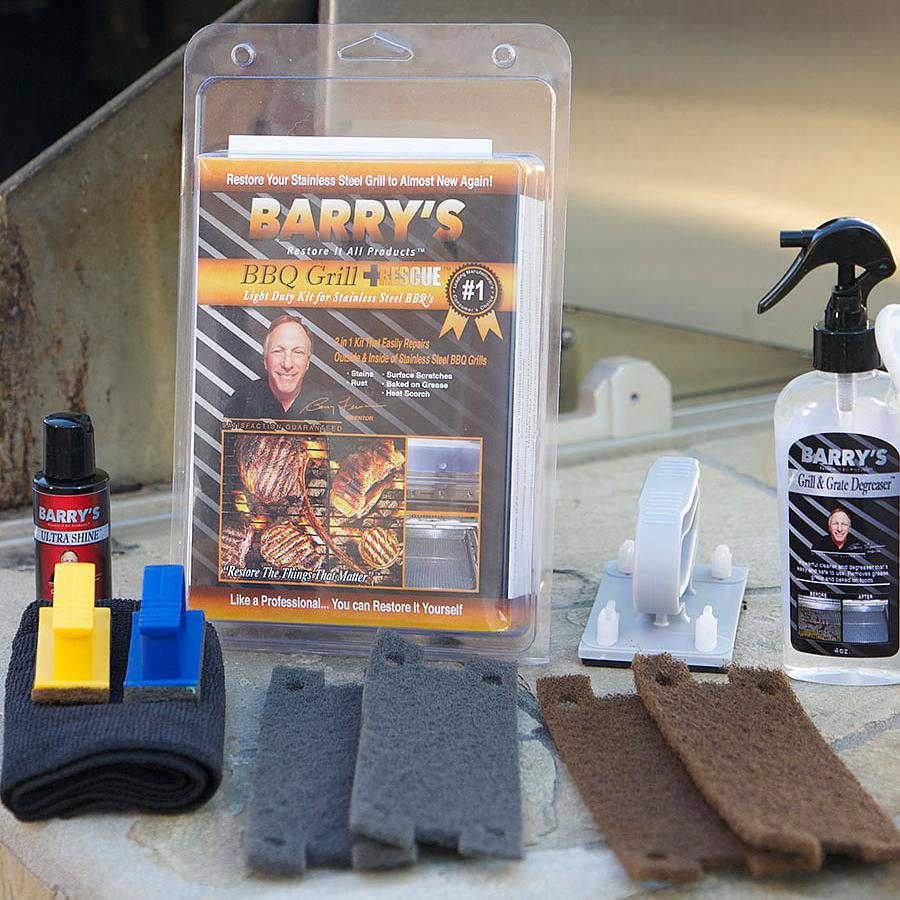 Barrys Restore It All BBQ Grill Rescue Kit - BRIA-BBQR-KIT