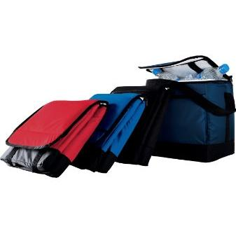 Augusta Collapsible Cooler Bag - Black