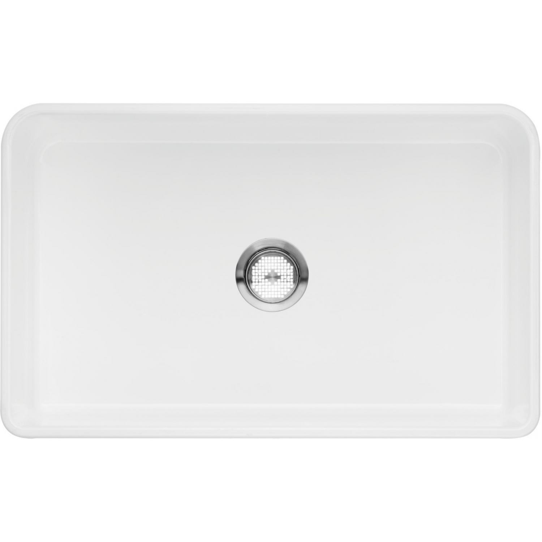 Blanco Cerana 30 X 19 Single Bowl Fireclay Apron Front Farmhouse Sink ...