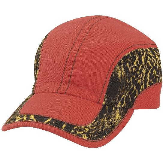 Cobra Caps Feather Flage Wave Cap - Flame Orange/Feather Flage