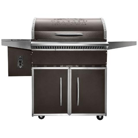 Traeger Select Pro Pellet Grill On Cart   Bronze