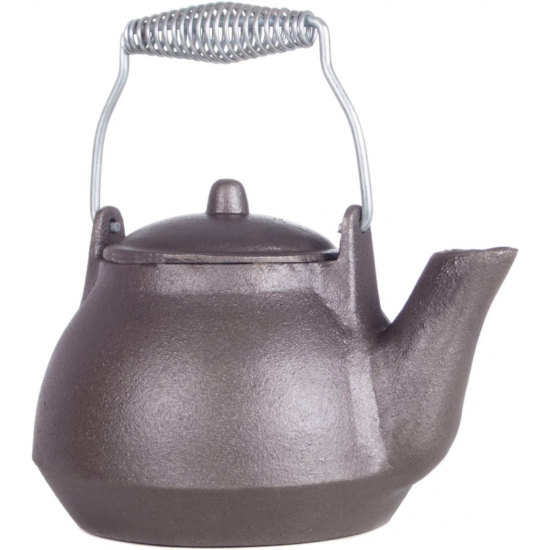 Cajun Cookware Kettles 1 Quart Cast Iron Tea Kettle