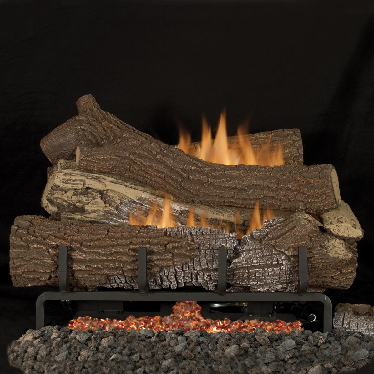 Superior Fireplaces 24 Inch Southern Comfort Gas Logs With Vent Free Propane