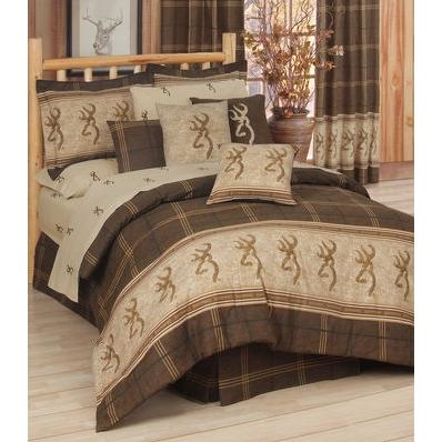 Browning Buckmark Twin Sheet Set