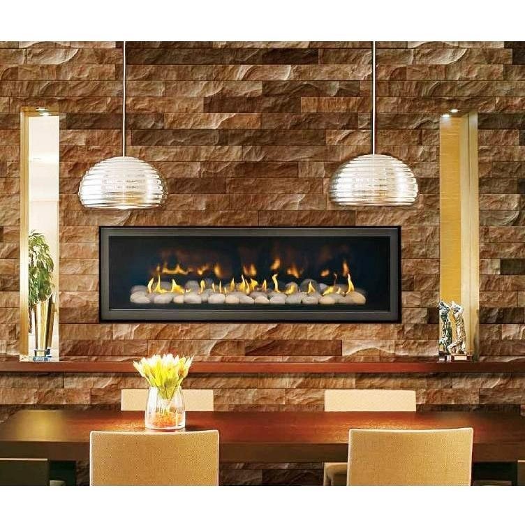 Napoleon LHD50 Linear Natural Gas Fireplace - Black