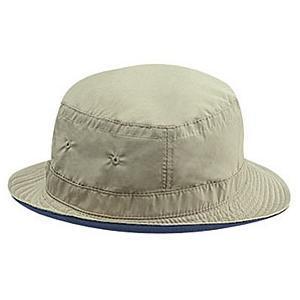 Otto Cap Polyester Microfiber Reversible Bucket Hat Size: L/XL Khaki/Navy