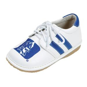 Squeak Me Shoes Boys Collegiate Toddler Shoe Size 3 - Duke