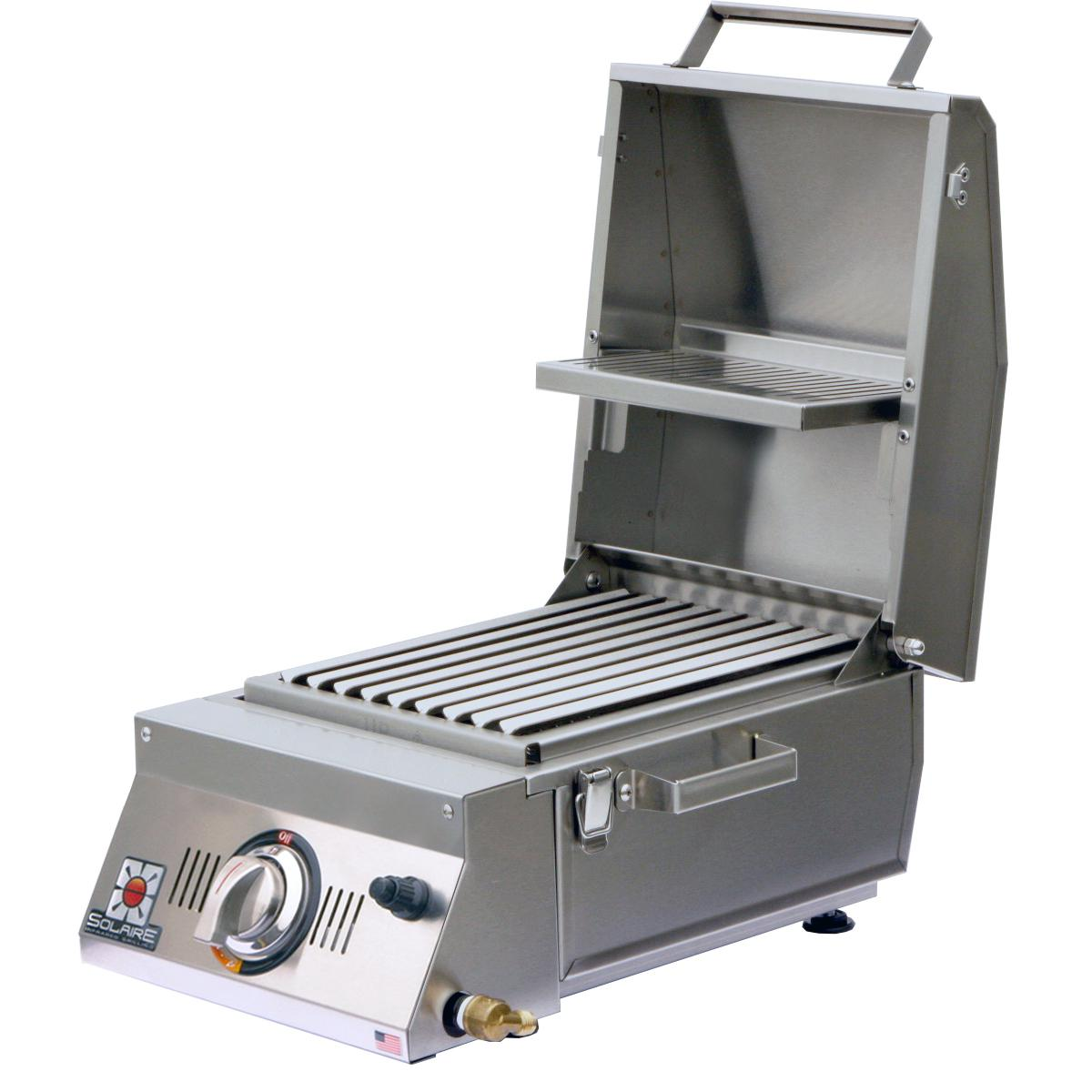 SOLAIRE AllAbout Portable Infrared Propane Gas Grill - SO...