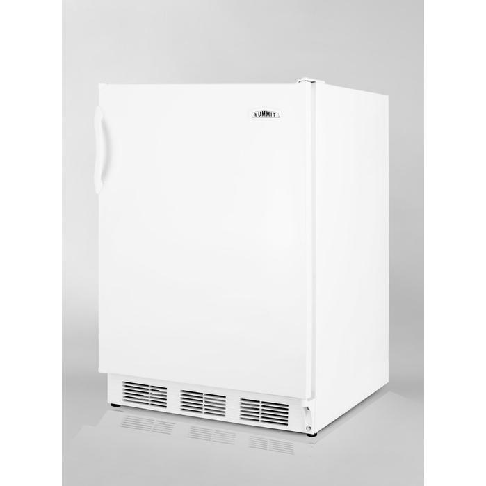 Summit ALF620 4.0 Cu. Ft. Capacity ADA Compliant Compact Refrigerator / Freezer - White