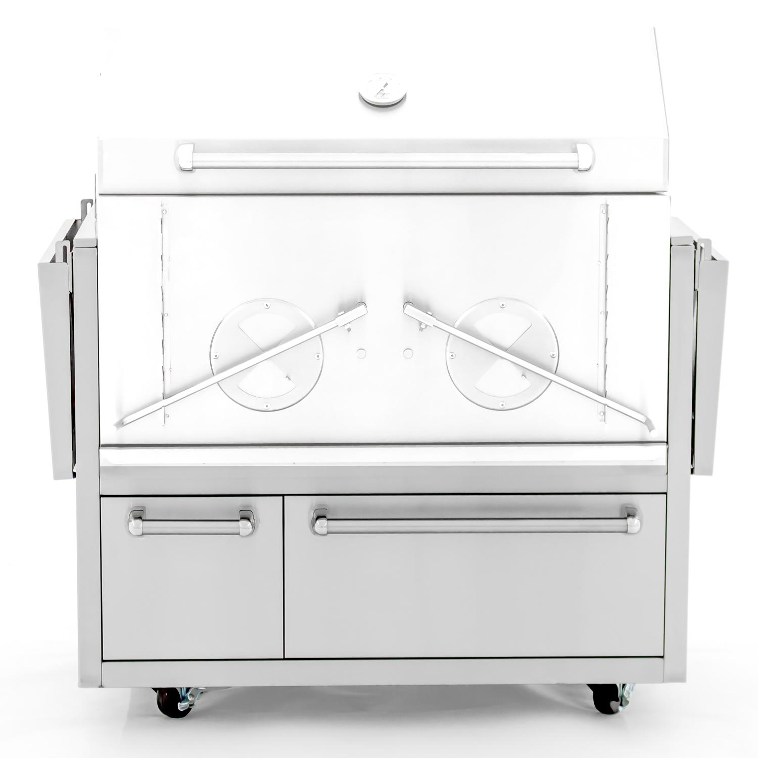 """Cajun Grill Preaux 36"""" Stainless Steel Grill Cart - 900cart"""