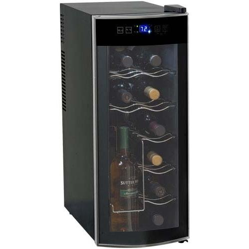 Picture of Avanti 12 Bottle Wine Chiller - Platinum - EWC1201