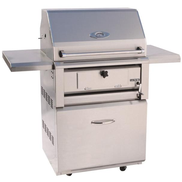 Luxor Charcoal Grills 30 Inch Charcoal Grill On Cart AHT-30-CHAR-F