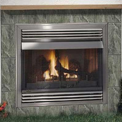 Napoleon GSS36 Outdoor Vent Free Natural Gas Firebox - Stainless 2071233