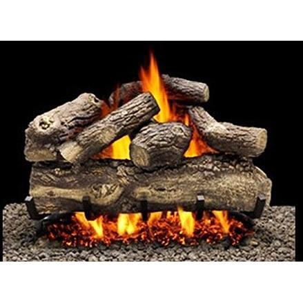 Firegear 18-Inch Tree House 7 Vented Log Set Without Burner