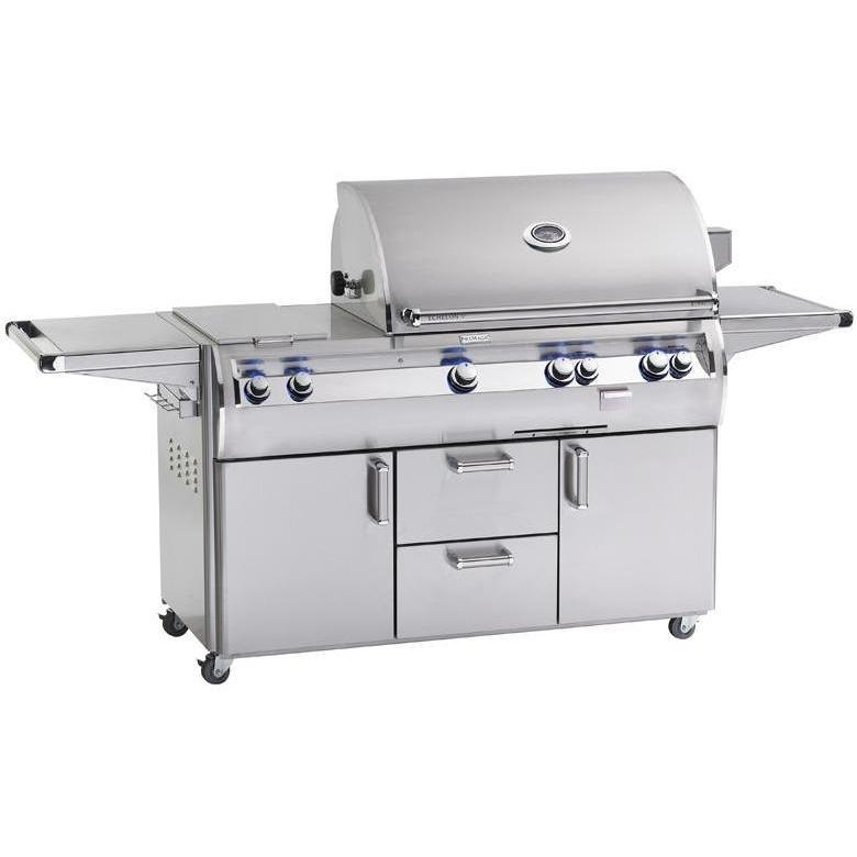 Fire Magic Echelon Diamond E790s A Series Natural Gas Grill With Double Side Burner On Cart 2864360