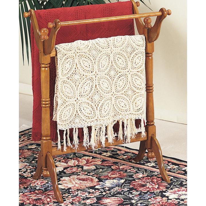 Powell Furniture - Nostalgic Oak Blanket Rack - 442Z