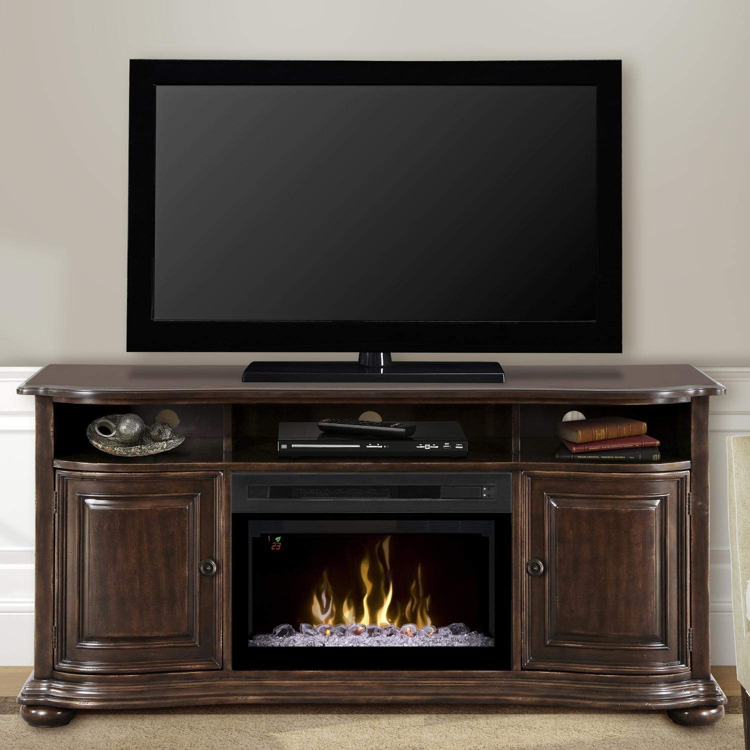 Dimplex Multi-Fire XD Henderson 66-Inch Electric Fireplac...