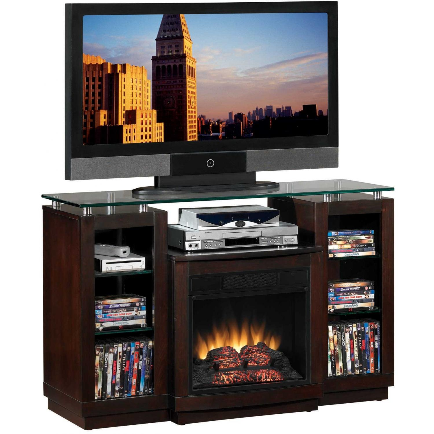 ClassicFlame 18MM2280-E451 Ashburn Electric Fireplace With Home Theater System - Espresso