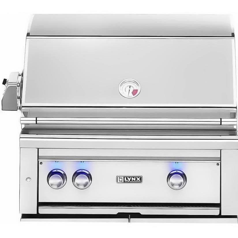 Lynx 30-Inch Built-In Propane Gas Grill With ProSear Burner And Rotisserie L30PSR-2-LP 2855986