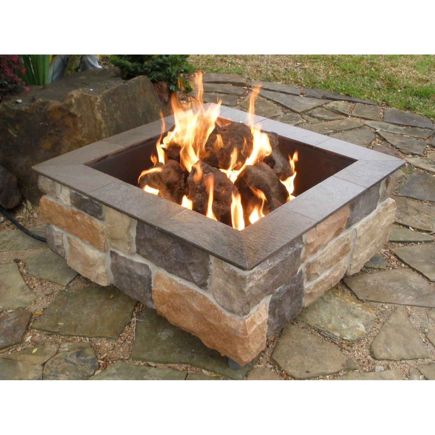 Fire for Square fire ring