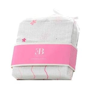 Elegant Baby Muslin Swaddling Baby Blankets Set - Pink 2566440