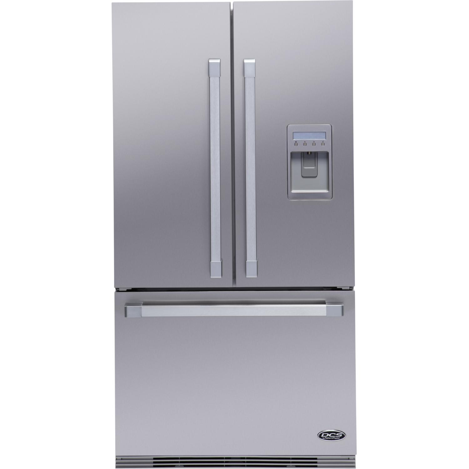 DCS RF195AUUX1 19.5 Cu. Ft. French Door Refrigerator - Stainless Steel