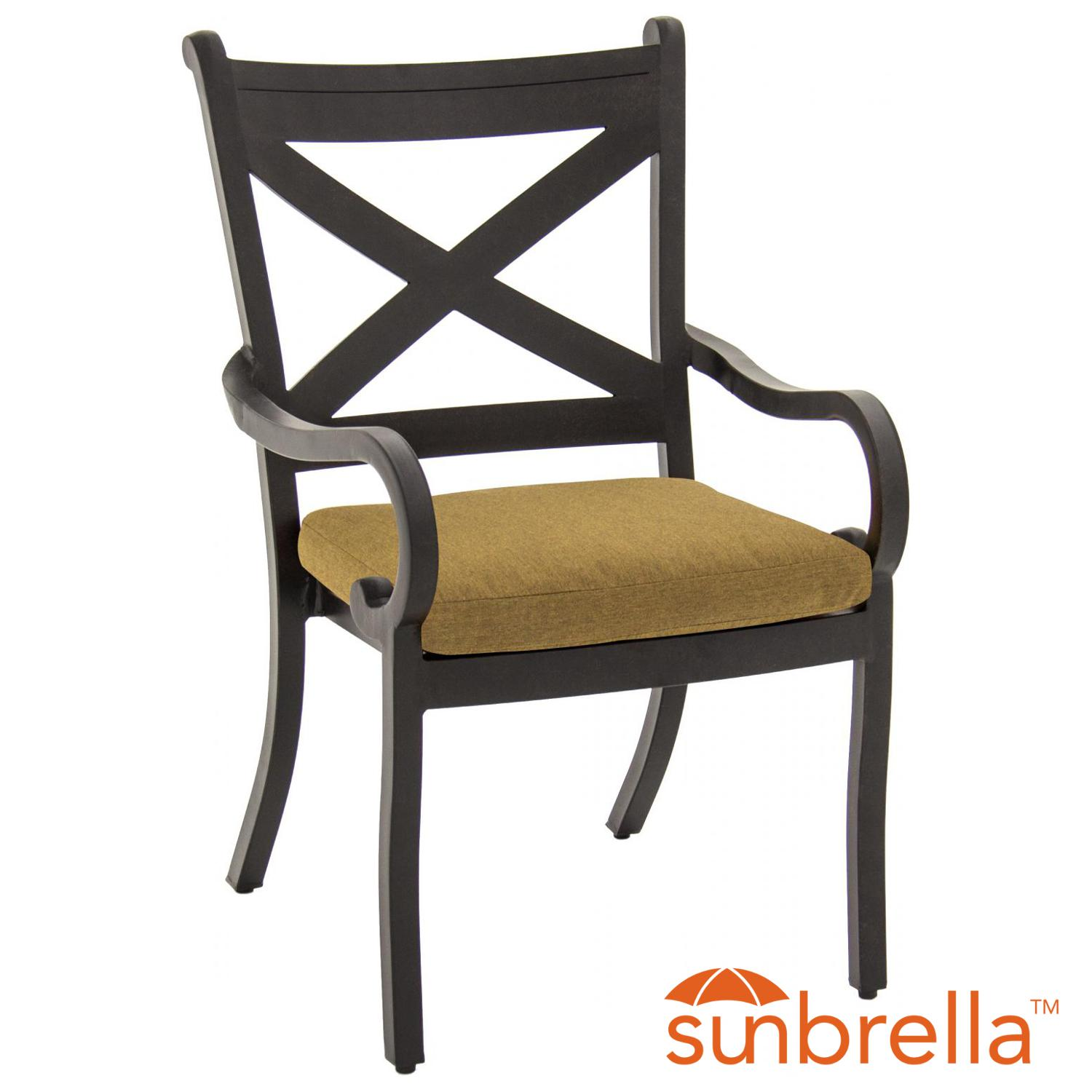 Avondale Aluminum Patio Dining Chair By Lakeview Outdoor ...