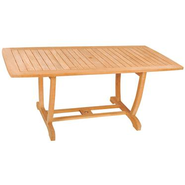 Hiteak Furniture U 71 X 30 Inch Teak Rectangular Dining Table