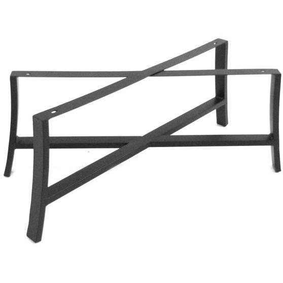 Meadowcraft Maddux Wrought Iron Coffee Patio Table Base