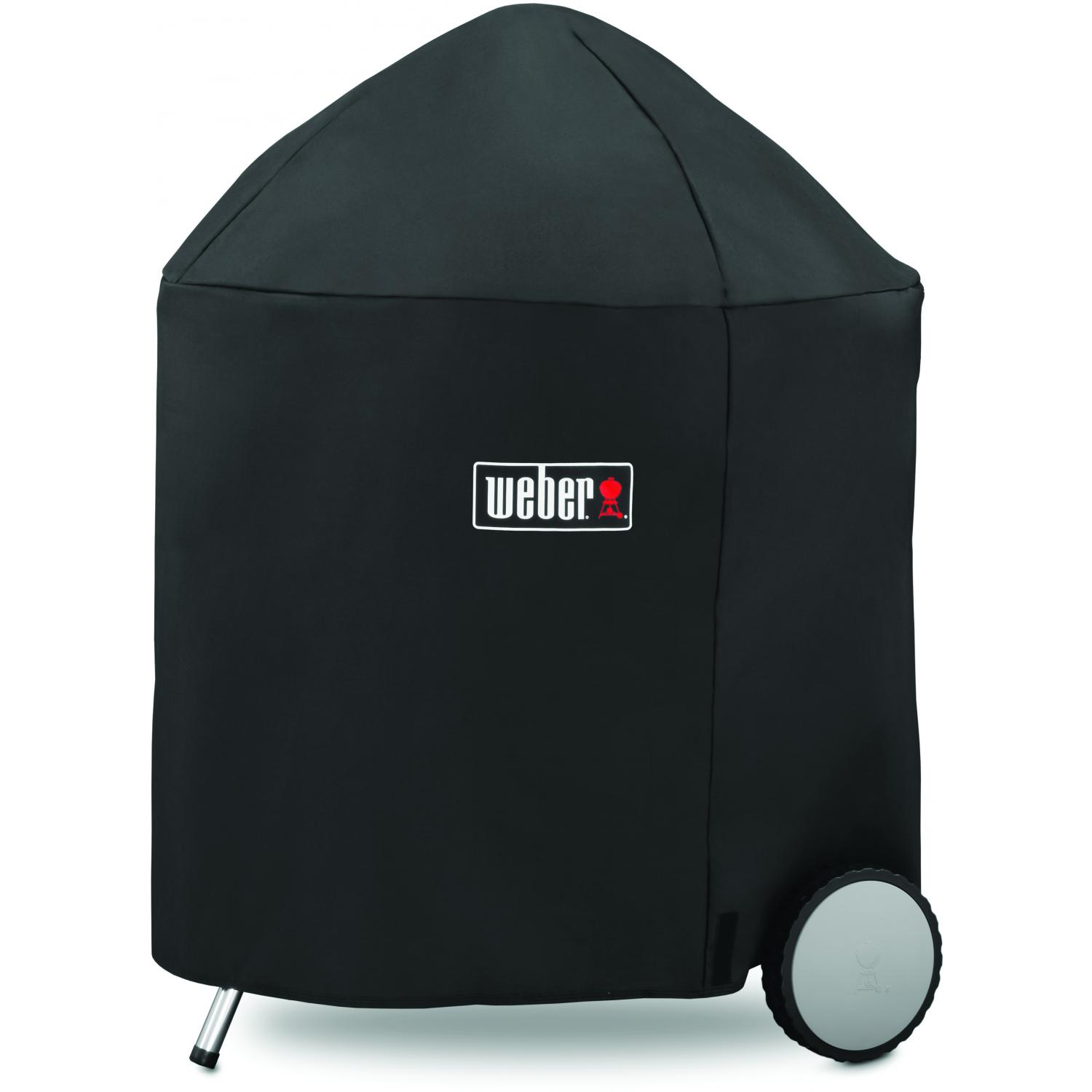 Weber 7153 Premium Grill Cover With Storage Bag For 26 Inch Original Kettle Premium Charcoal Grills