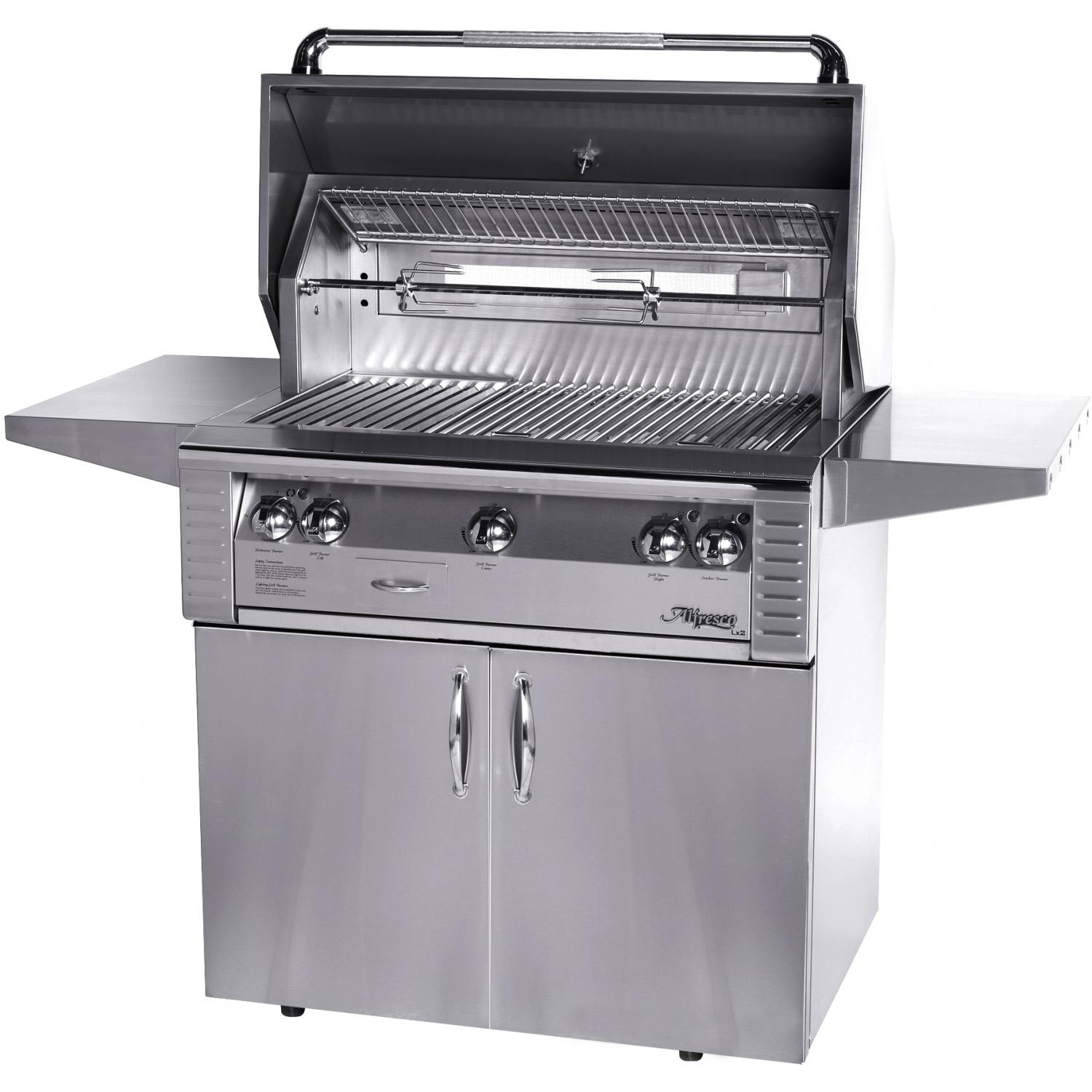 Alfresco Lx2 36-inch Natural Gas Grill On Cart With Sear Zone And Rotisserie at Sears.com