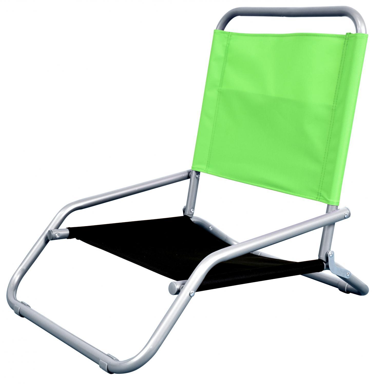 Astella Classic Folding Steel Beach Chair - Lime Green & Black - Bc11-p29/p34