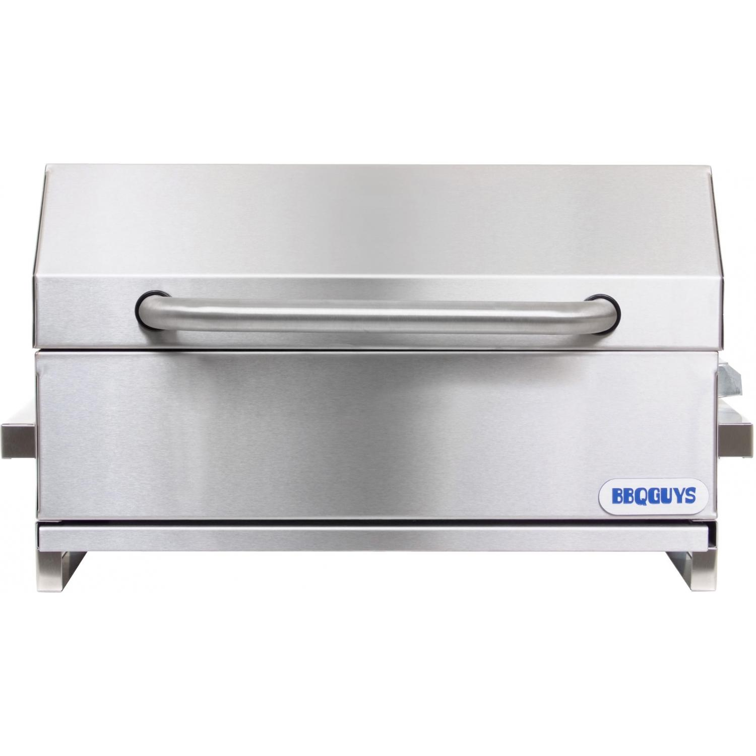 BBQ Guys Stainless Steel Tabletop Electric Grill