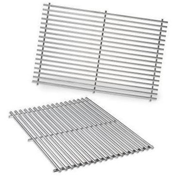 Weber 7528 Stainless Steel Cooking Grates For Genesis E & S 300 Series Gas Grills 2071805