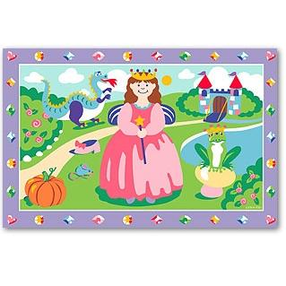 Olive Kids Laminate Placemat - Happily Ever After