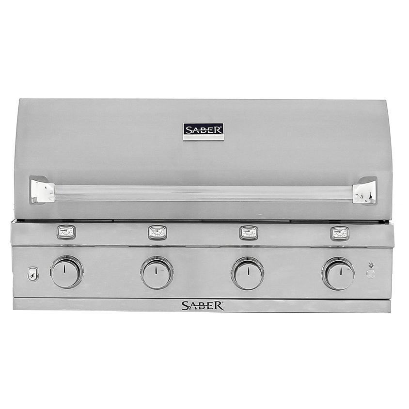 Saber 670 40-Inch 4-Burner Built-In Infrared Natural Gas ...