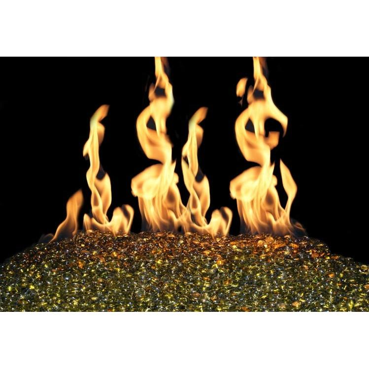 Peterson Real Fyre Peterson Fyre Gems 30 Inch Moss Fire Gem Set With Vented Natural Gas G45 Burner - Match Light at Sears.com