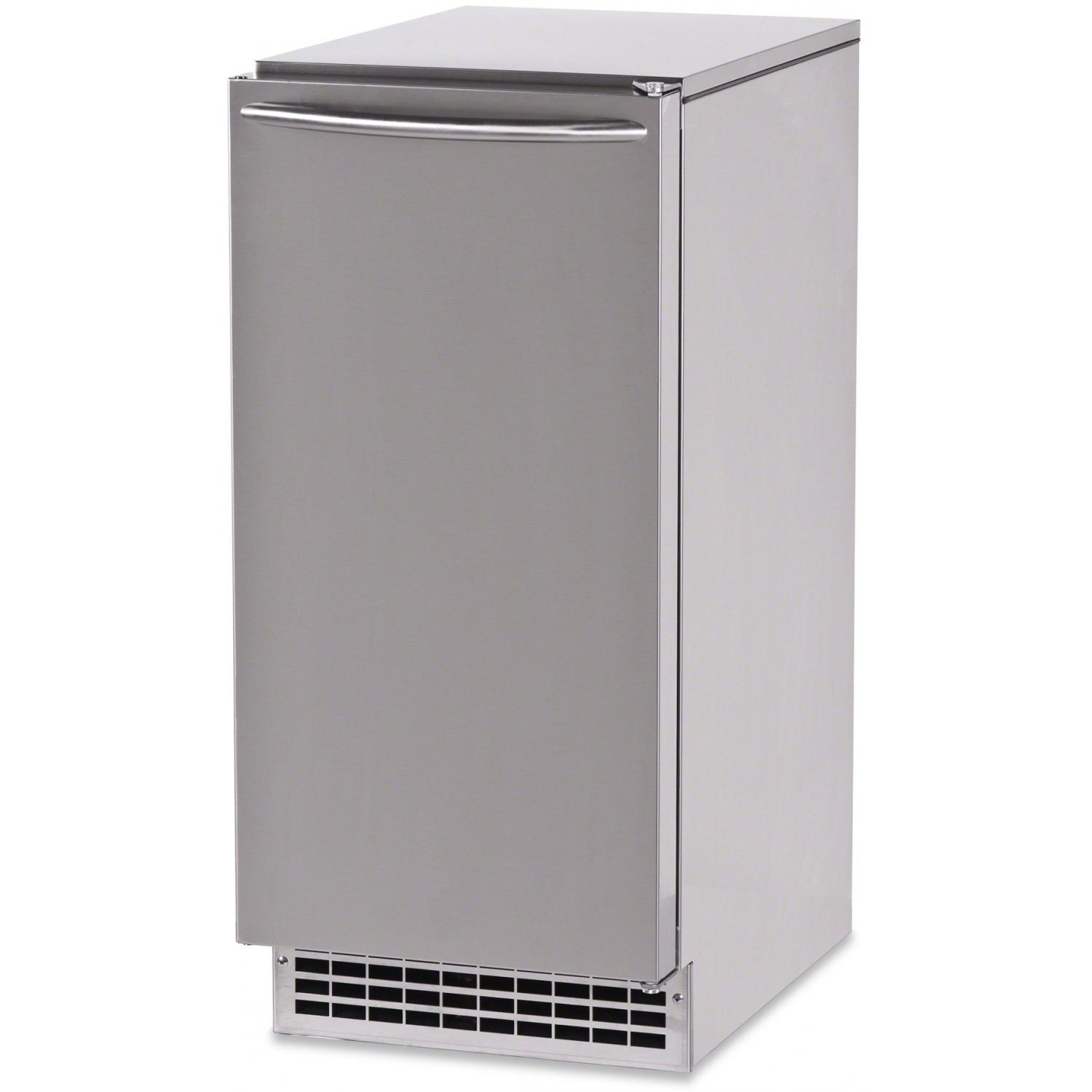 Ice-O-Matic 85 Lb. Outdoor Ice Maker With Gravity Drain - Stainless Steel - GEMU090 2886108
