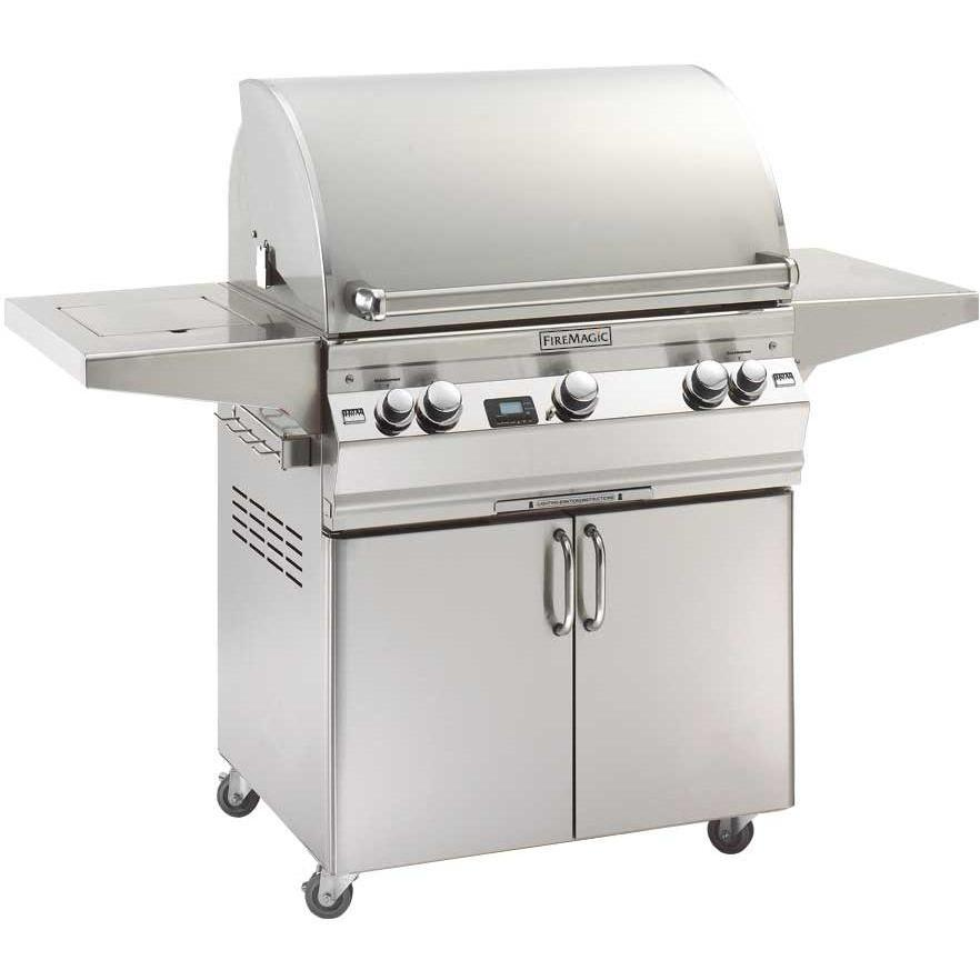 Fire Magic Aurora A660s Propane Gas Grill With Single Side Burner On Cart at Sears.com