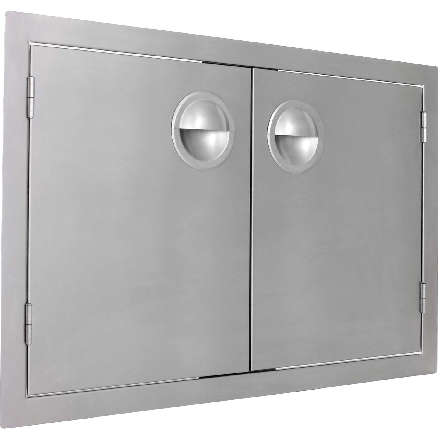 Bbqguys.com Portofino Series 48 Inch Stainless Steel Double Access Door