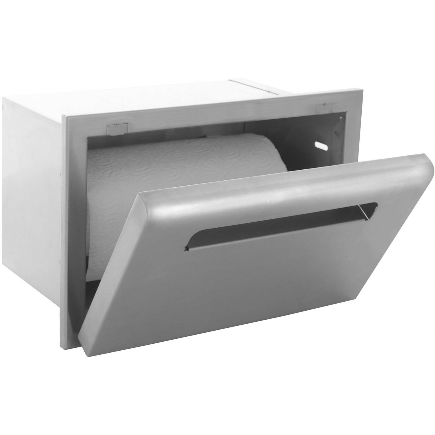 Picture of BBQGuyscom Roma Series Built-In Stainless Steel Paper Towel Dispenser
