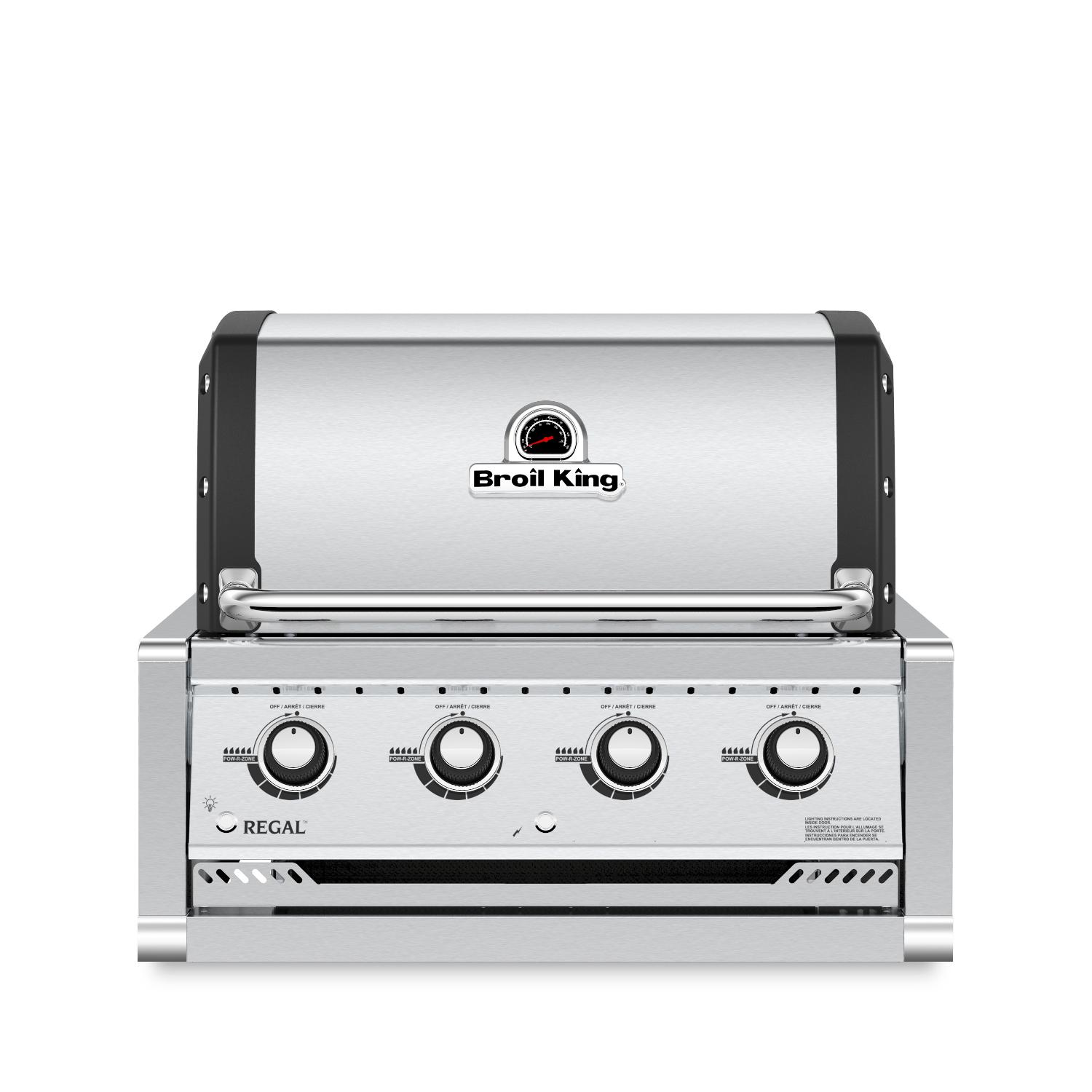 Broil King Regal S420 4-burner Built-in Propane Gas Grill - Stainless Steel - 885714