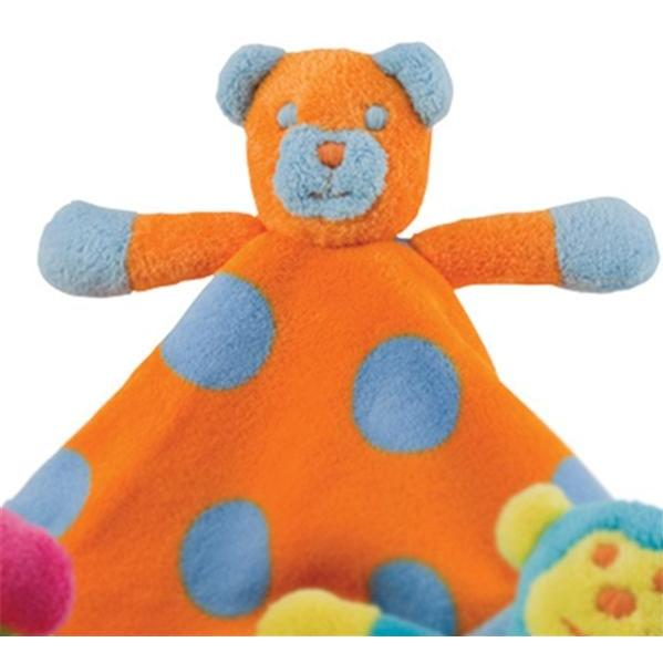 Elegant Baby Cuddly Crew Security Blanket - Bear 2814542