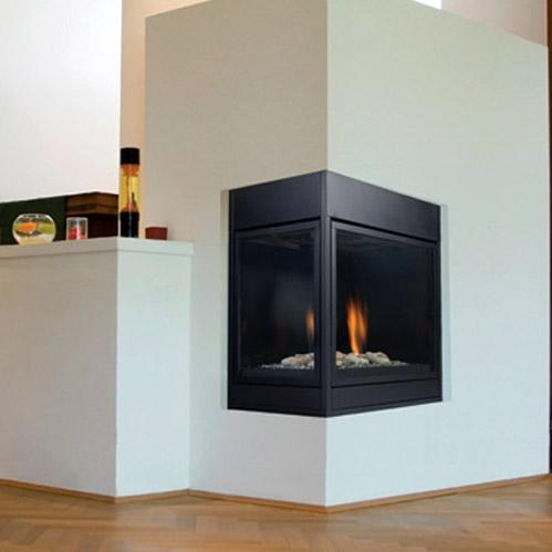 Monessen Clldvnsc Arlington Series 36-inch Natural Gas Direct Vent Corner Designer Fireplace System With Signature Command... at Sears.com